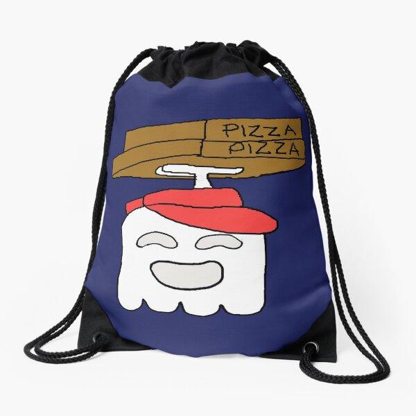 Pizza Delivery Regular Show Drawstring Bag