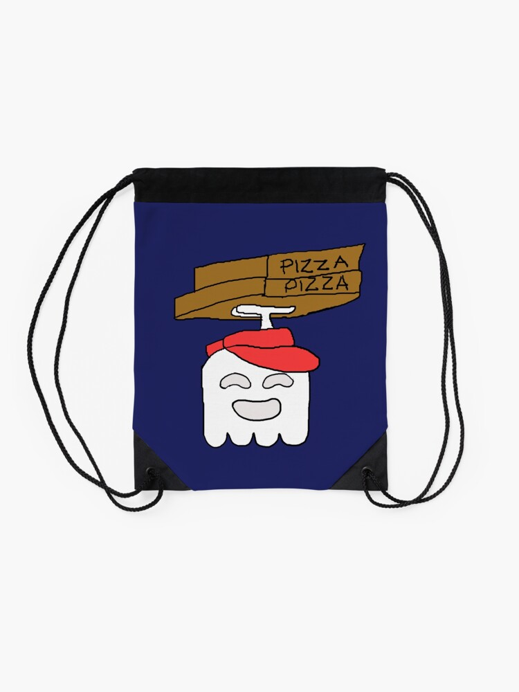 Alternate view of Pizza Delivery Regular Show Drawstring Bag