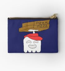 Pizza Delivery Regular Show Zipper Pouch
