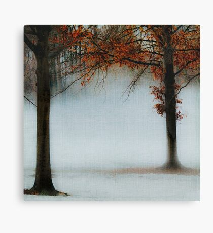 Blue Fog II Canvas Print