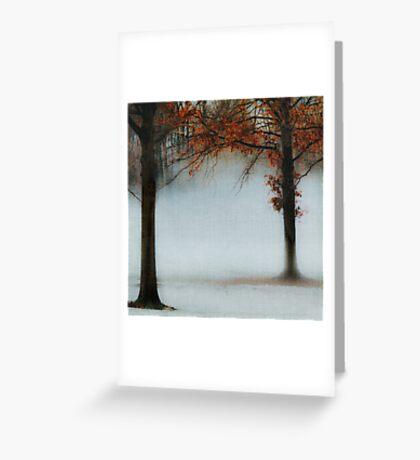 Blue Fog II Greeting Card