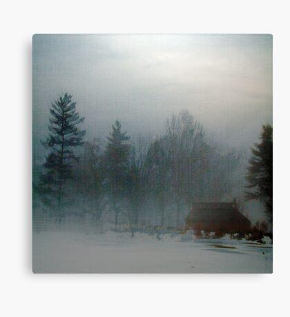 Blue Fog IV Canvas Print
