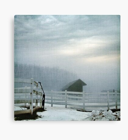Blue Fog V Canvas Print