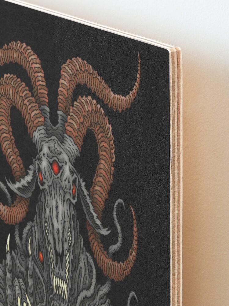 Alternate view of Holy Goat - Azhmodai 2019 Mounted Print