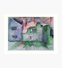 'Whalley Ruins' Art Print