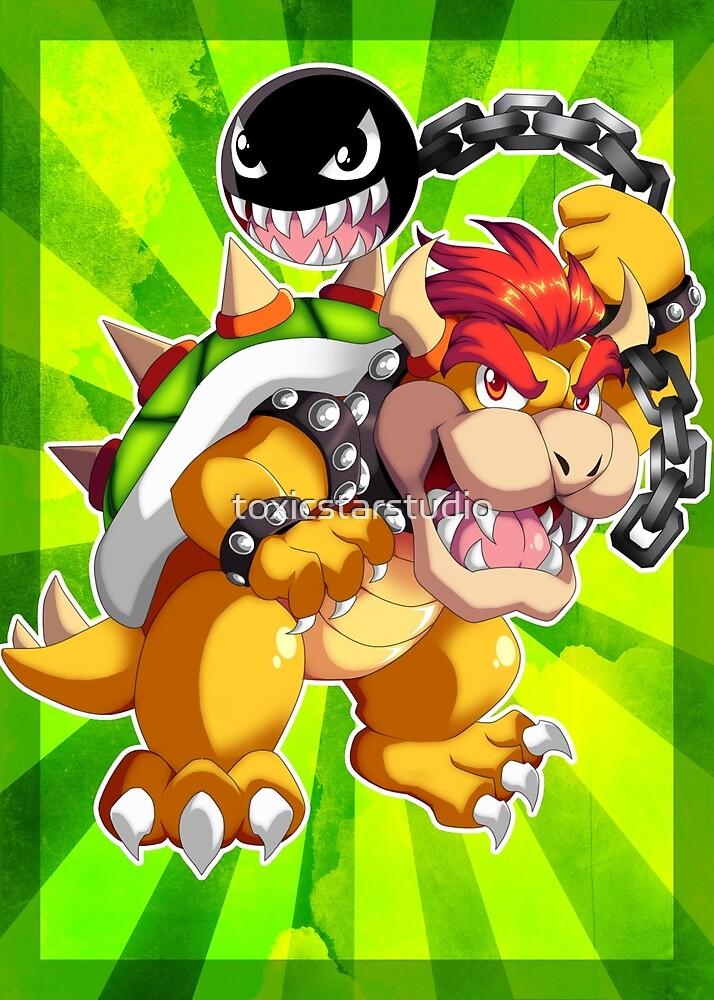 Super Mario RPG: Bowser by toxicstarstudio