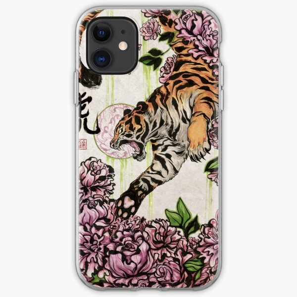Tiger Helm iPhone 11 case