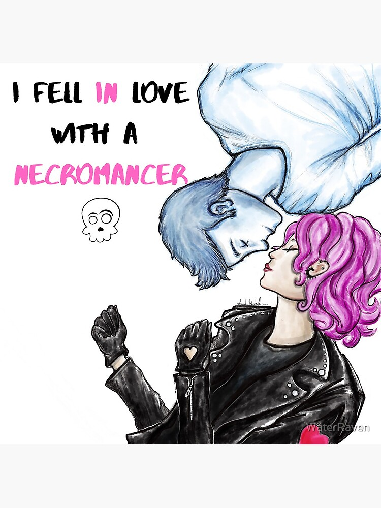I Fell in Love with a Necromancer Cover by WaterRaven
