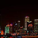 Shanghai Bund Night by Antonio Zarli