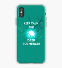 Keep Calm and Deep Submerge - Sailor Moon iPhone Case