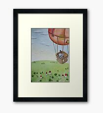 Little Traveller Framed Print