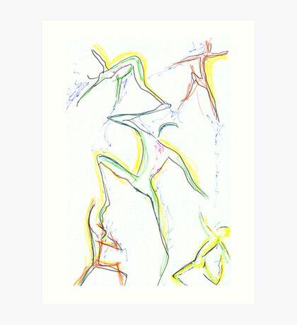 Life's dance Art Print