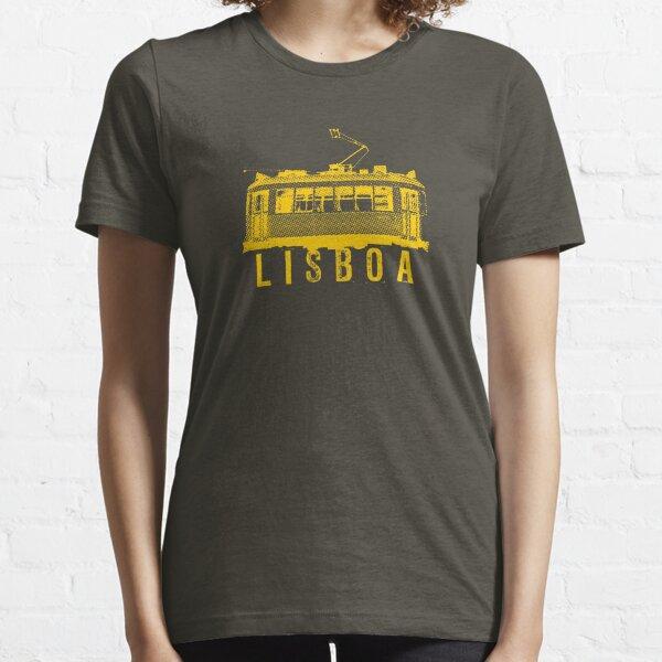 Lisboa gelb Essential T-Shirt