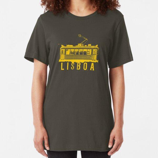 Lisboa yellow Slim Fit T-Shirt