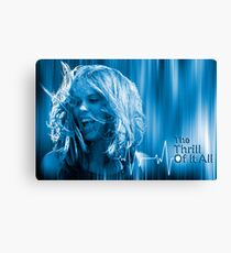 The Thrill of It All - MOVIE POSTER Canvas Print