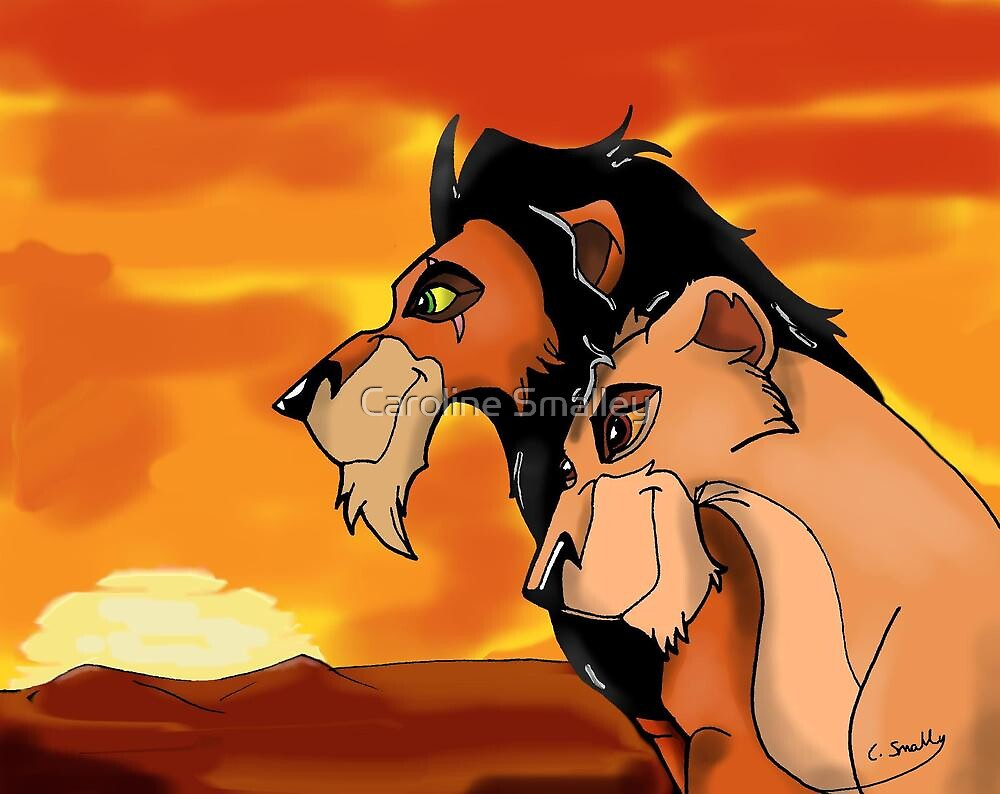 The Lion King: Scar And Zira by Caroline Smalley