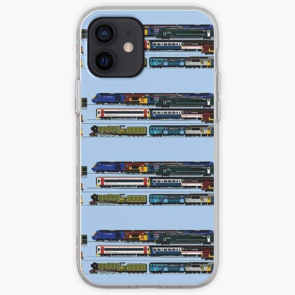 BRITISH LOCOMOTIVES iPhone Soft Case