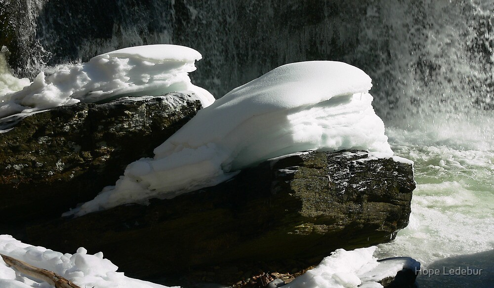 Snow Pillows by Hope Ledebur
