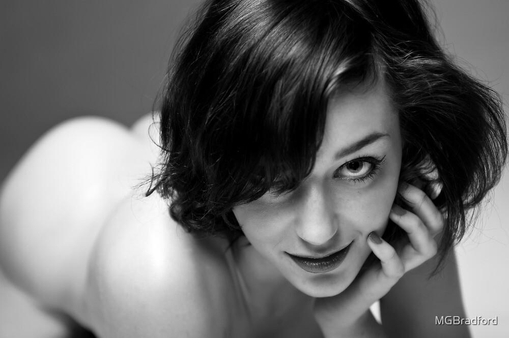 Samantha saying Hello by MGBradford