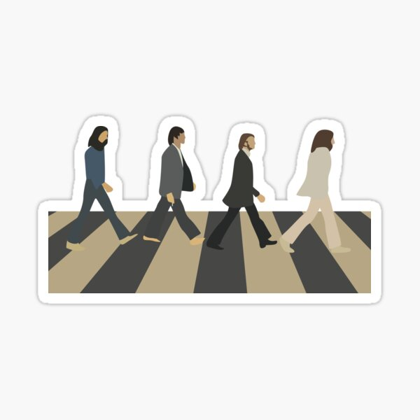 Abbey Road Pegatina