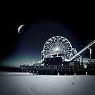 Santa Monica Pier by David Rozansky