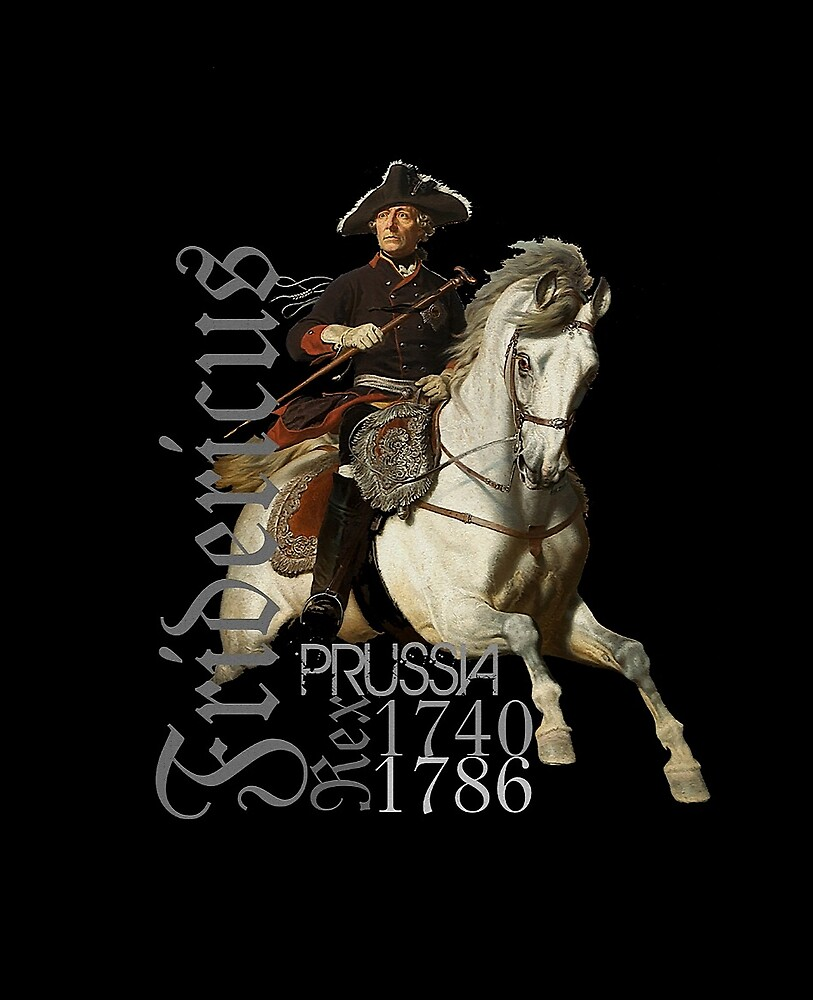 Fridericus Rex..Frederick the Great on Horse by edsimoneit