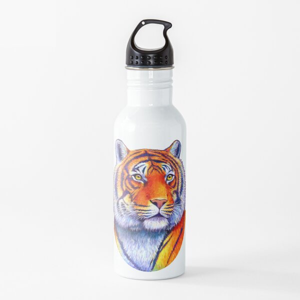 Fiery Beauty - Colorful Bengal Tiger Water Bottle