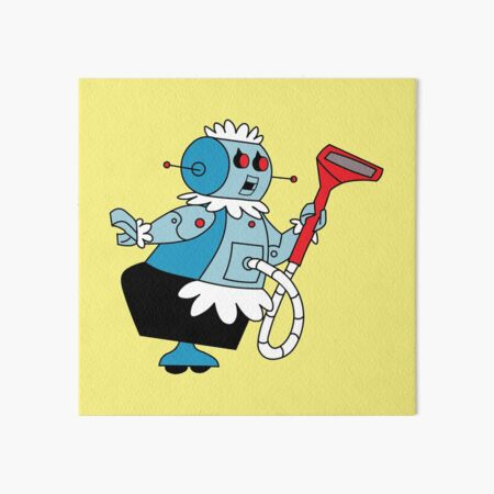 Rosie the Robot Maid from The Jetsons Art Board Print
