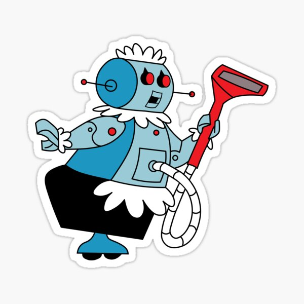 Rosie the Robot Maid from The Jetsons Sticker