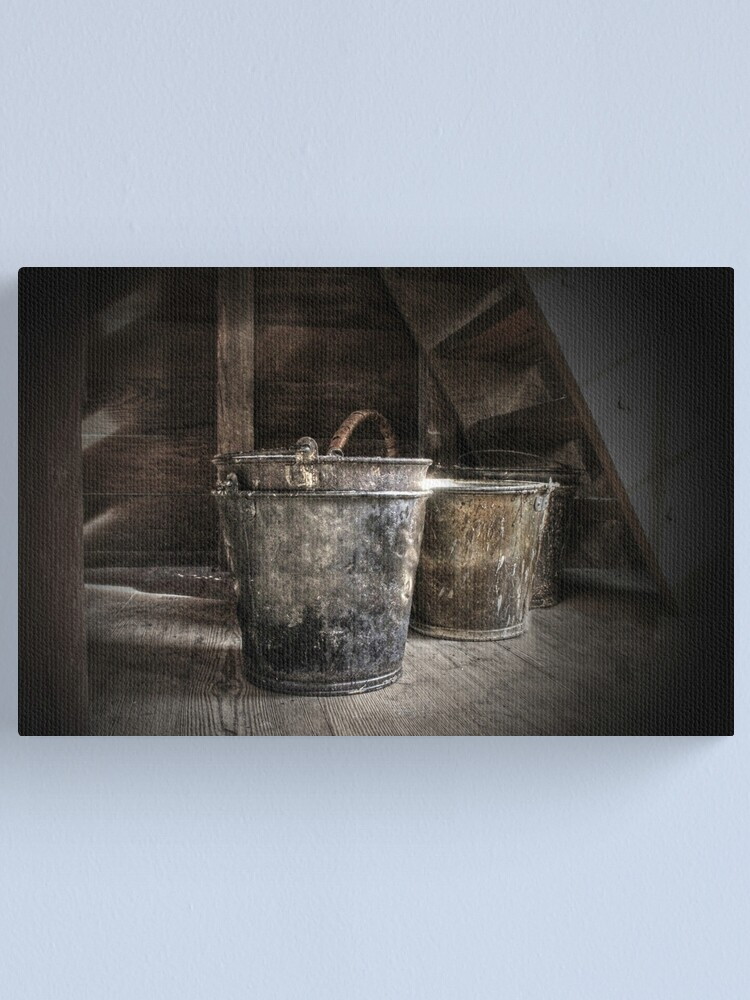 Alternate view of Buckets Canvas Print