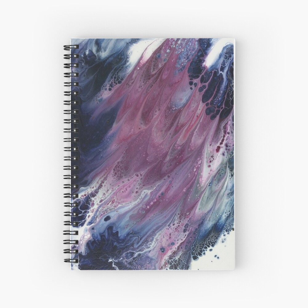 The Sound of Wings Spiral Notebook