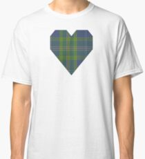00428 All Ireland Blue District Tartan  Classic T-Shirt
