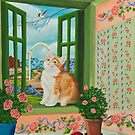 Spring Through My Window by Charlotte  Blanchard