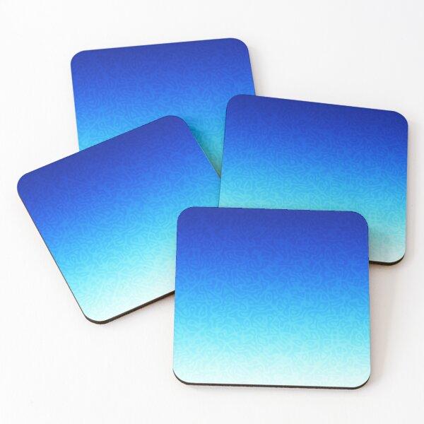 Brash & Sassy Blue Coasters (Set of 4)