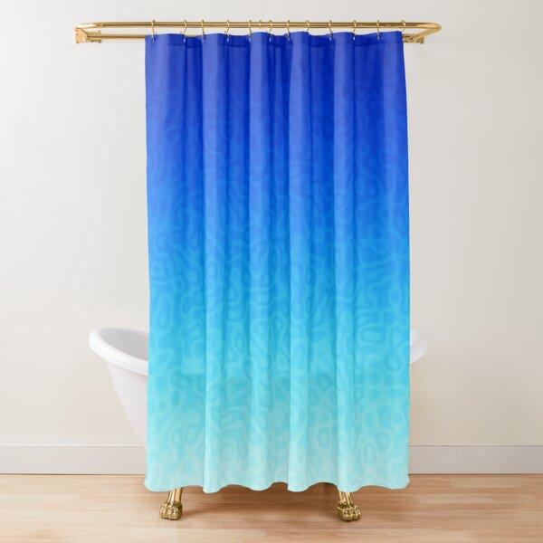 Brash & Sassy Blue Shower Curtain