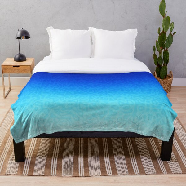 Brash & Sassy Blue Throw Blanket