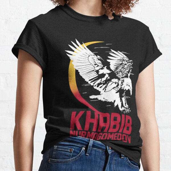 Khabib Nurmagomedov: l'aigle T-shirt classique