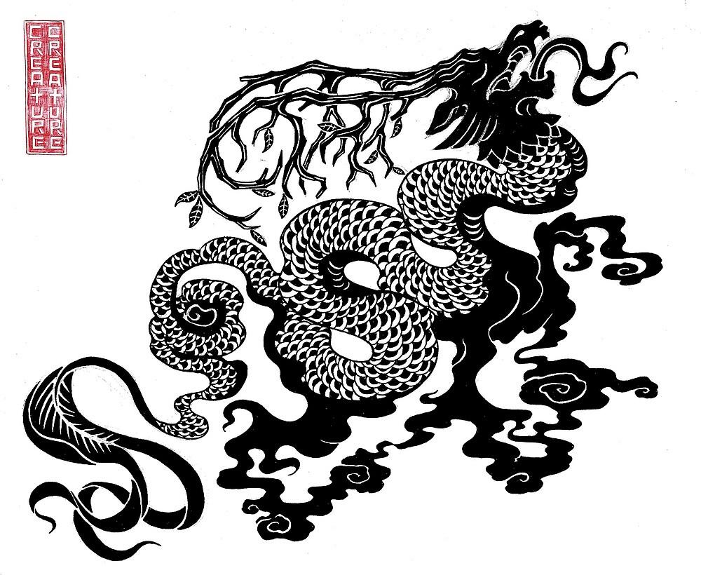 Akin Dragon by 2xCreature
