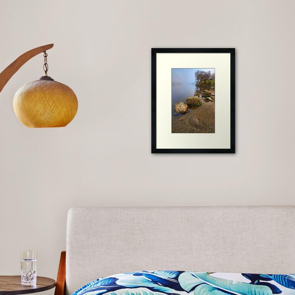 Lubnaig Mist (1) Framed Art Print