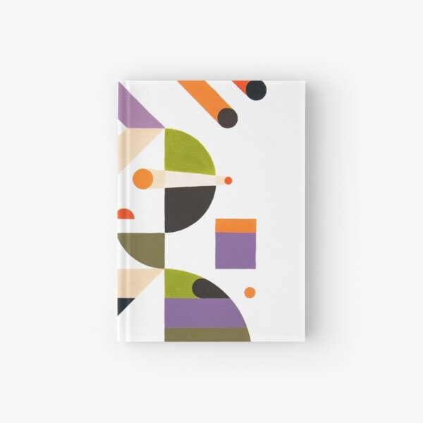 Abstract girl Hardcover Journal