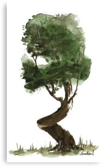 Little Zen Tree 149 by Sean Seal