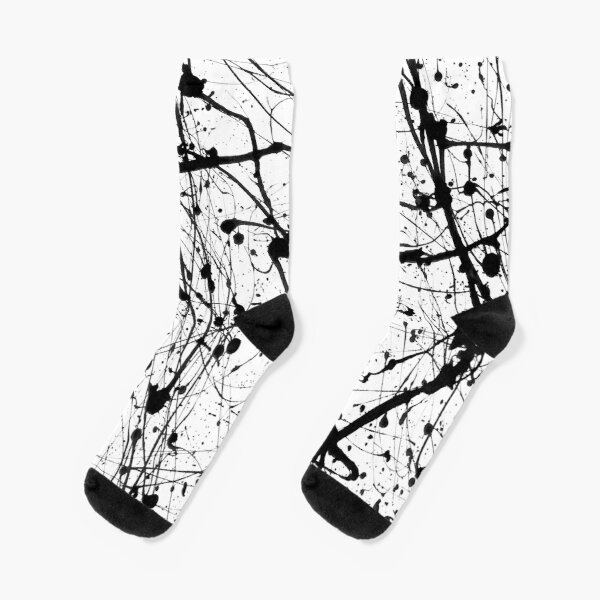 Splat! 3 (Cookies And Cream) Socks