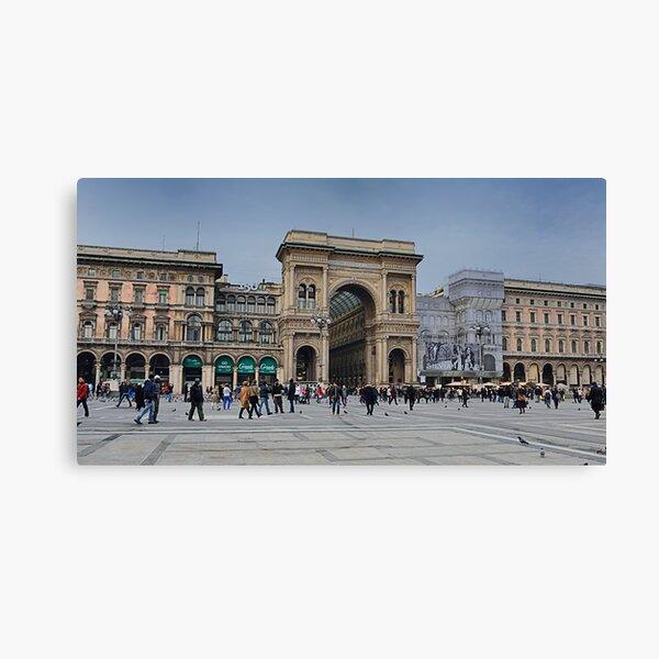 Piazza Duomo, Milano Canvas Print