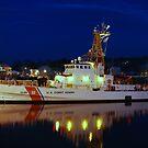 USCGC Grand Isle  - Gloucester, Massachusetts by Steve Borichevsky
