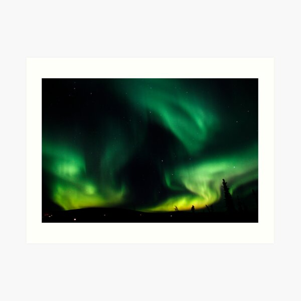 Aurora Borealis 2403 Art Print