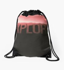 Explore Drawstring Bag