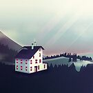 Castle in the Mountains von schwebewesen
