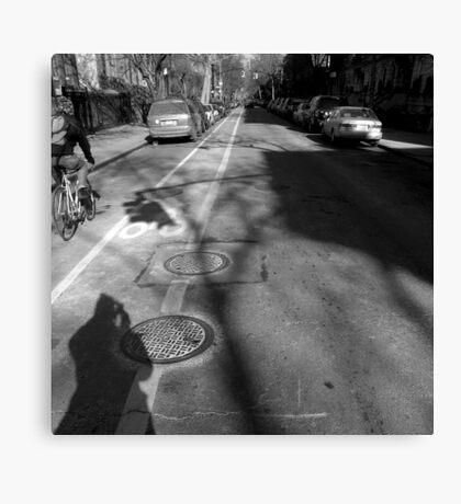 winter, brooklyn, nyc Canvas Print