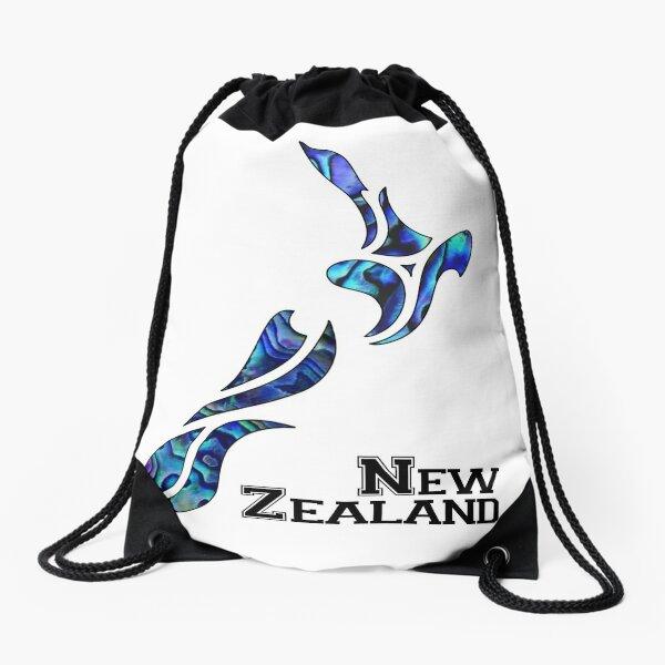 Fluid New Zealand Drawstring Bag