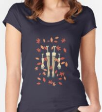 fall (in love) Women's Fitted Scoop T-Shirt